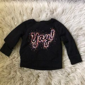3T old navy sweatshirt